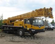 Аренда Автокрана 25 тонн Китайца в Киеве